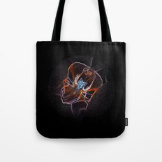 neon orchid bloom II Tote Bag