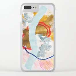 don't you drain those big blue eyes Clear iPhone Case