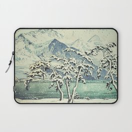 Seasonal Snow at Dara Laptop Sleeve