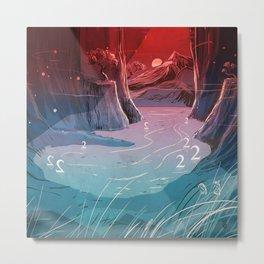 2wan Lake Metal Print