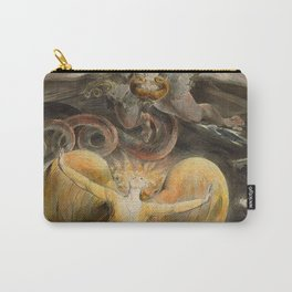 William Blake - The Great Red Dragon and the Woman Clothed with the Sun Carry-All Pouch