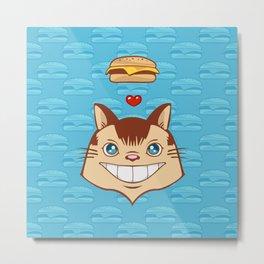 Hai    !!!!   I Can Haz Cheezburger? Metal Print