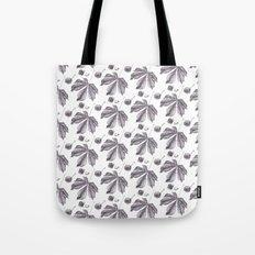 Floral pattern horse-chestnut Tote Bag