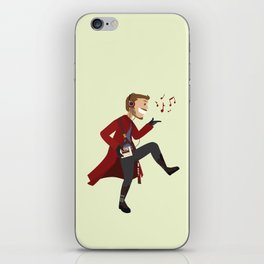 Dancing Quill iPhone Skin