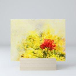 Here come the Sun. Mini Art Print