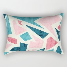 Aged terrazzo 1.2 Rectangular Pillow