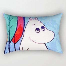 The walk of Moomin Rectangular Pillow