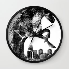 Home Of The Derby Wall Clock