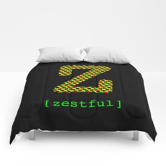 #Z [zestful] Comforters