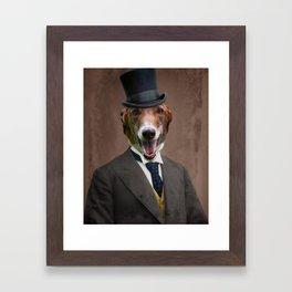 Happy Benny Framed Art Print