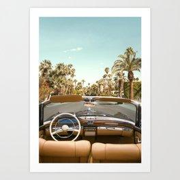 Cabriolet Art Print