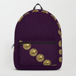 gold and violet details fashion vintage piece Backpack