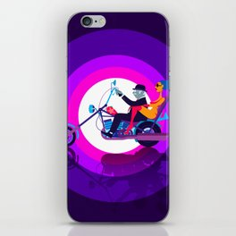 Psychedelic Mid-Life Crisis iPhone Skin