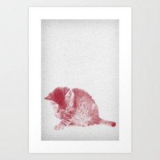 Kitten 01 Art Print