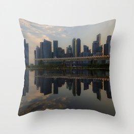 Singapore, Skyline Throw Pillow