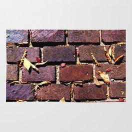 Bricks & Leaves Rug