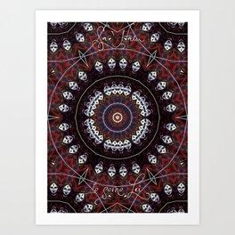 Kali Sa'Ham Art Print