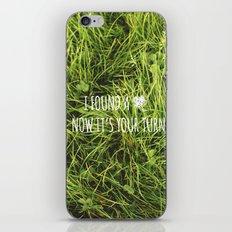 Four Leaf Clover iPhone & iPod Skin