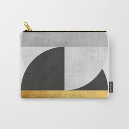 Golden Geometric Art IX Carry-All Pouch