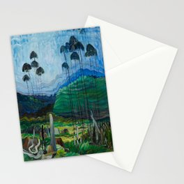 Emily Carr - Trees in the Sky - Canada, Canadian Oil Painting - Group of Seven Stationery Cards