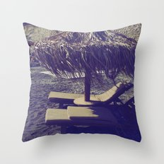 Private Paradise II Throw Pillow