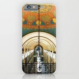 Art Deco Fisher Building Downtown Detroit iPhone Case