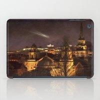 edinburgh iPad Cases featuring Glowing Edinburgh by Svetlana Sewell