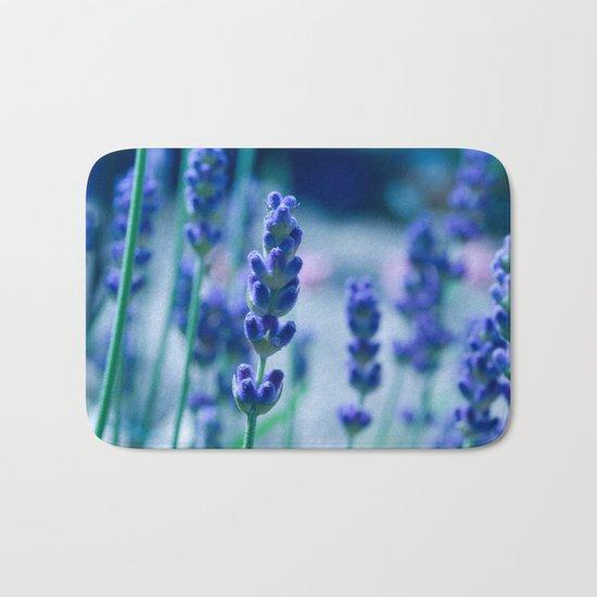 A Touch of blue - Lavender #1 Bath Mat