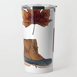 Fall Feelings Travel Mug