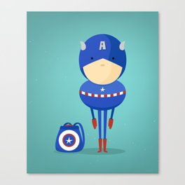 Captain A: My dreaming hero! Canvas Print
