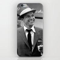 frank sinatra iPhone & iPod Skins featuring Frank Sinatra in Las Vegas by Gabriel T Toro