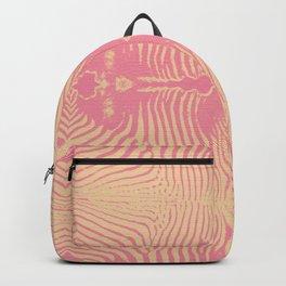 PINK ZEBRA & BLACK GAZELLE Backpack