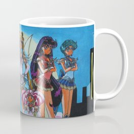 Brilliant Moon Soldiers Coffee Mug