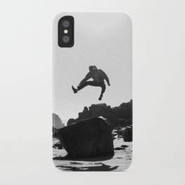Beach Jump iPhone Case