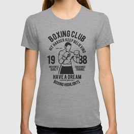 boxing club T-shirt