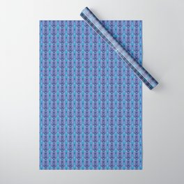 Ikat Purple Wrapping Paper