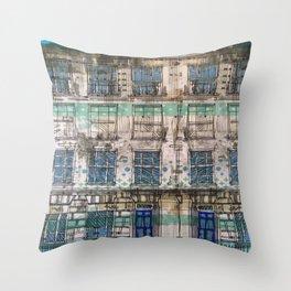 Edinburgh house Throw Pillow