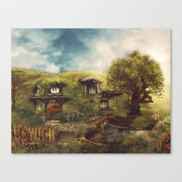 Under the Hill Canvas Print