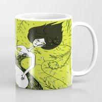 dress Mugs featuring Dress by Oeilbleu