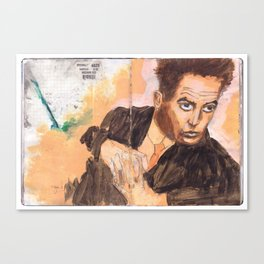 Egon in the Style of Egon Canvas Print