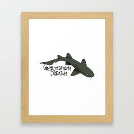 Caribbean Nurse Shark Framed Art Print