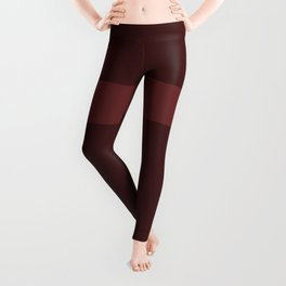 Burgundy Lane Leggings