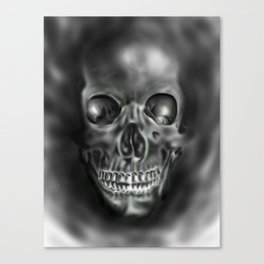 Ghastly Skull Canvas Print