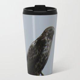 Harlan Hawk Travel Mug