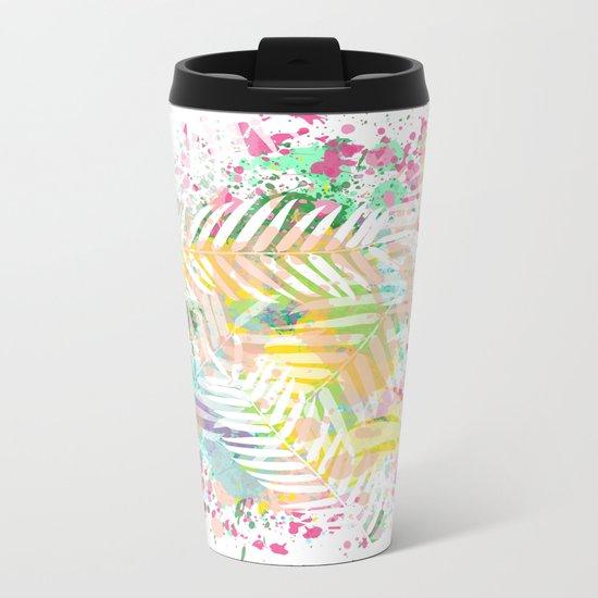 Tropical Juice Metal Travel Mug