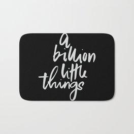 A billion little things Bath Mat