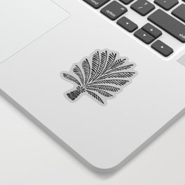 Palm Tree – Black Sticker