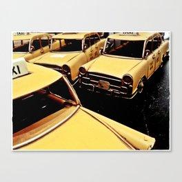 New York parking Canvas Print