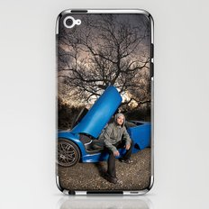 Bam Margera - Eerie tree, Blue ride iPhone & iPod Skin