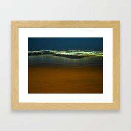 Harbour Lights Framed Art Print